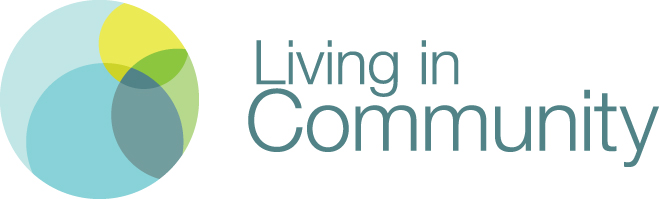 Living in Community circle logo